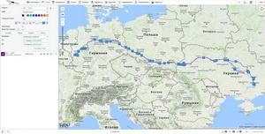 GPS мониторинг международных грузоперевозок